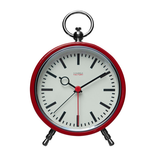 Cloudnola Factory Red Station Alarm Clock 0120