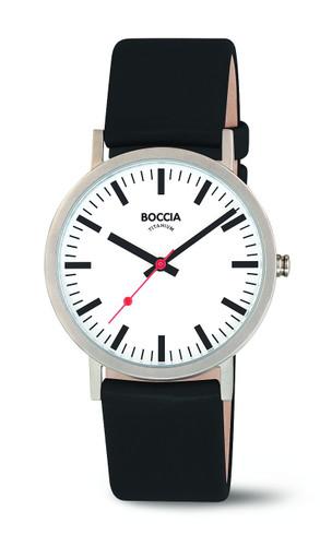 Boccia Midsize Titanium Quartz Watch 3651-01