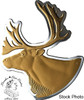 Canada: 2020 $50 Real Shapes: The Caribou Pure Silver Coin