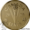 Canada: 2020 5 Cents The Canadian Home Front: The Victory Nickel Bronze Coin