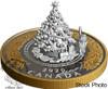 Canada: 2020 $50 Christmas Train 5 oz. Pure Silver Coin