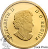 Canada: 2014 $5 The Moose 1/10 oz Pure Gold Coin