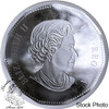 Canada: 2018 $1 Piedfort Double Concave 10 oz. Pure Silver Coin - EXTREMELY RARE.