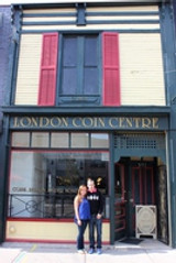 Coin Gallery London merges with London Coin Centre Inc
