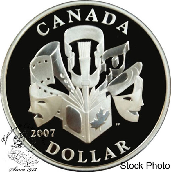 Canada: 2007 $1 Celebration of the Arts Proof Silver Dollar coin