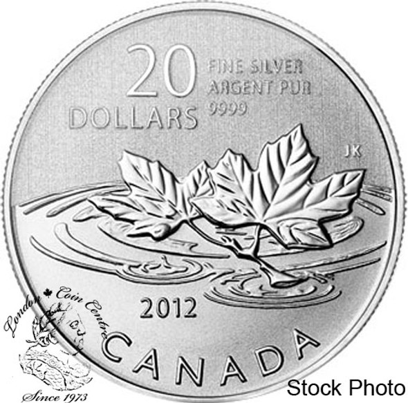 "Canada: 2012 $20 ""Farewell to the Penny"" Pure Silver Coin"
