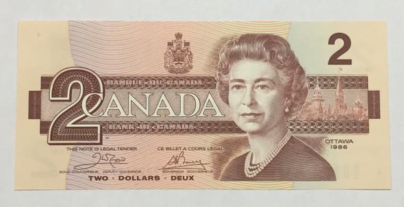 Canada: 1986 $2 Crow-Bouey AUK