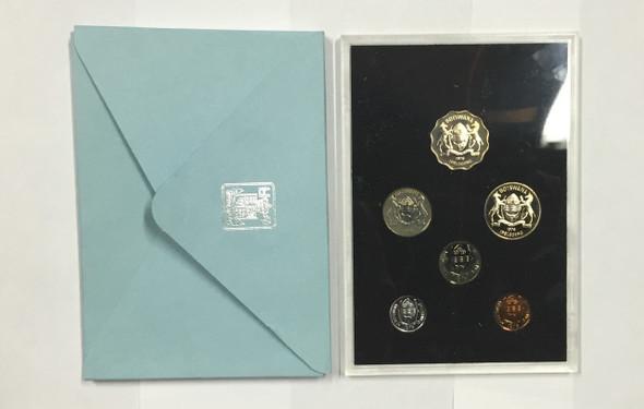 Botswana: 1976 Coinage for Republic of Botswana (6 coins)