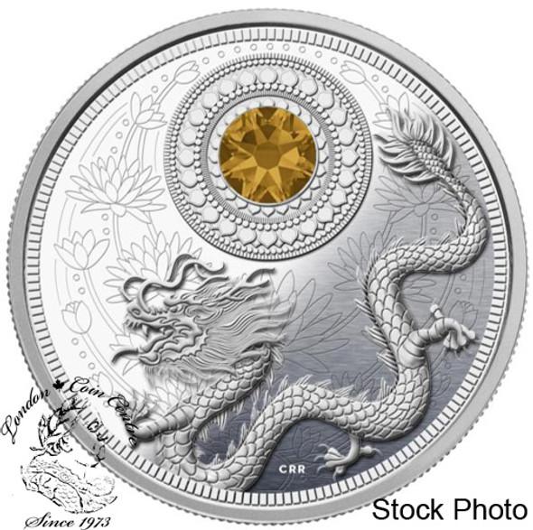 Canada: 2016 $5 November Birthstones Silver Coin