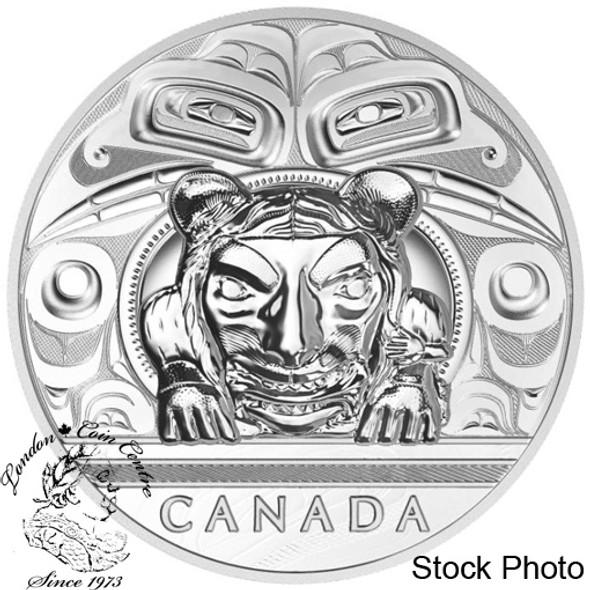 Canada: 2016 $500 Charles Edenshaw: Argillite Chest Silver Coin