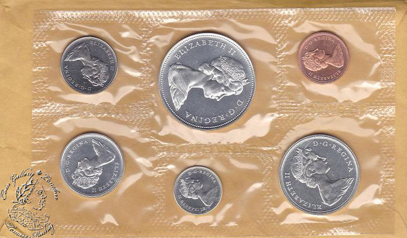 Canada: 1966 Proof Like / PL Coin Set