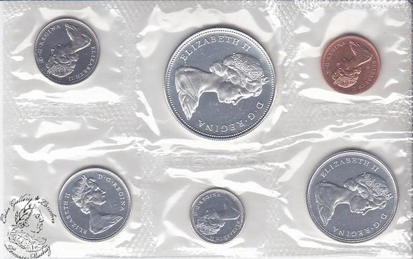 Canada: 1967 Proof Like / PL Coin Set