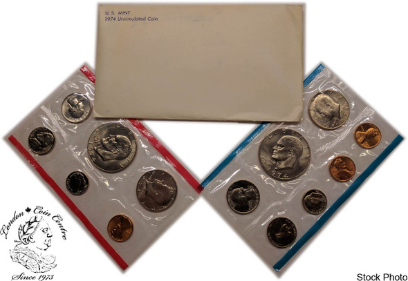 United States: 1974 Mint Coin Set