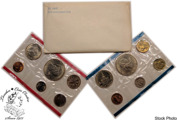 United States: 1975 Mint Coin Set