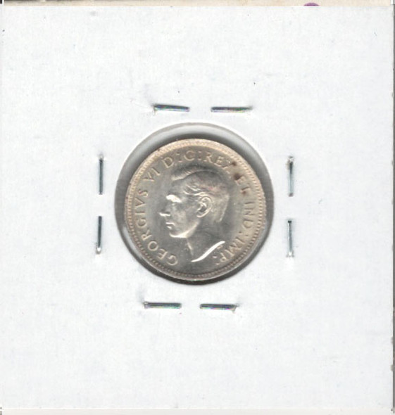 Canada: 1942 10 Cents MS61 Spots