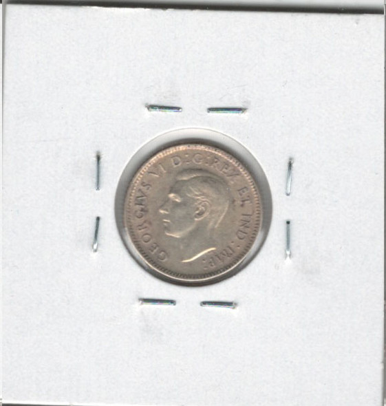 Canada: 1943 10 Cents MS60 #2