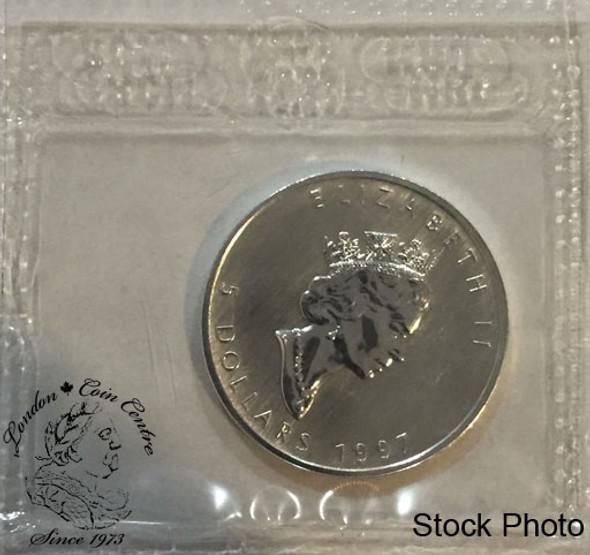 Canada: 1997 $5 1 oz Silver Maple Sealed