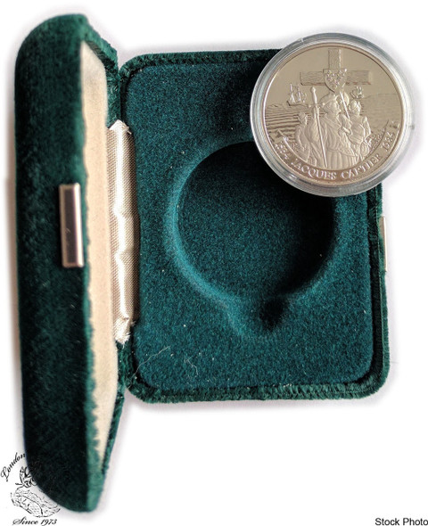 Canada: 1984 $1 Jacques Cartier Proof Nickel Coin in Case