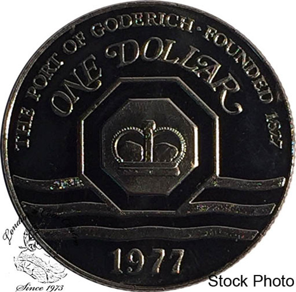 Canada: 1977 Port of Goderich Trade Dollar