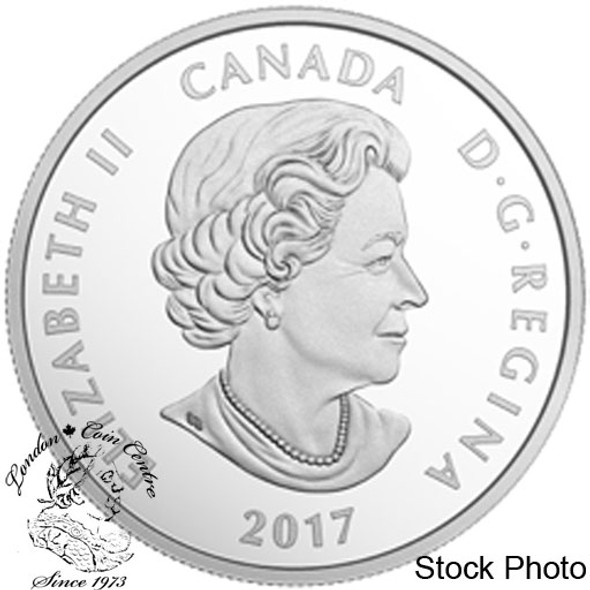 Canada: 2017 $10 Birds Among Nature's Colours - Chickadee Silver Coin