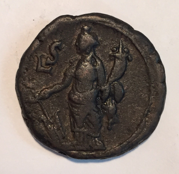 Roman Egypt: Alexandria. Philip I Year 6 AD 248-249