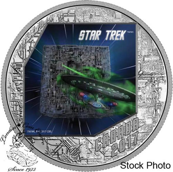 Canada: 2017 $20 Star Trek The Borg Silver Coin
