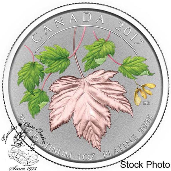 Canada: 2017 $300 Maple Leaf Forever Platinum Coin