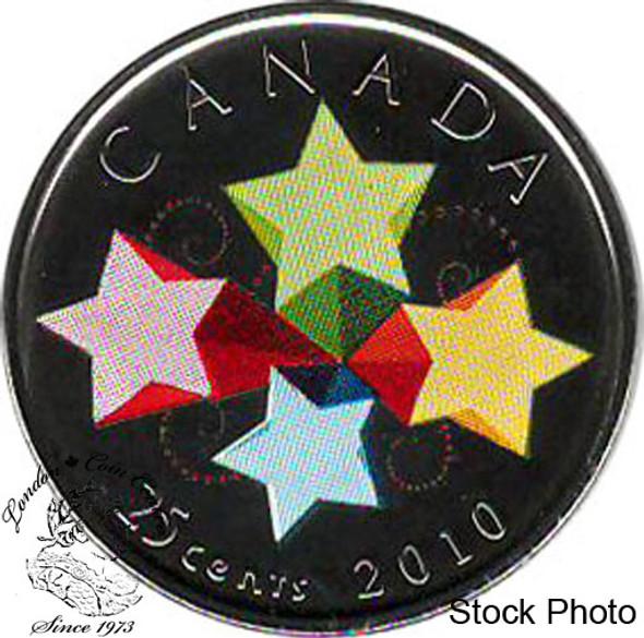 Canada: 2010 25 Cent Congratulations Proof Like