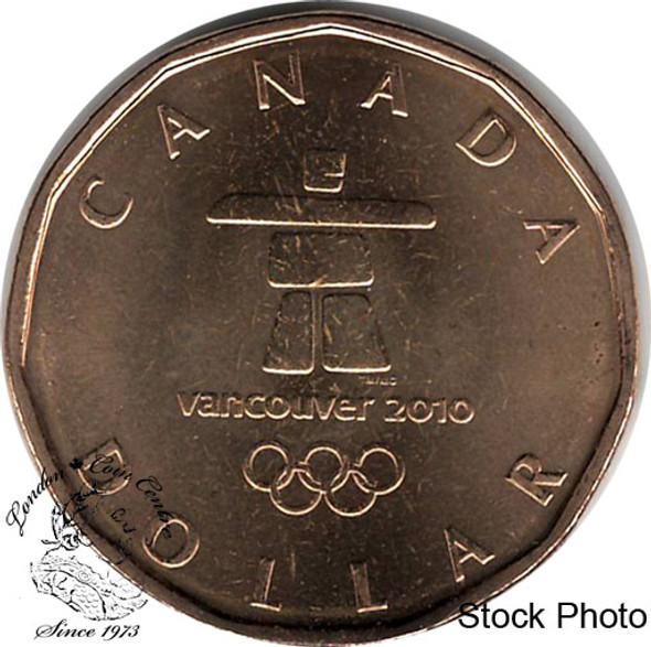 Canada: 2010 $1 Inukshuk BU