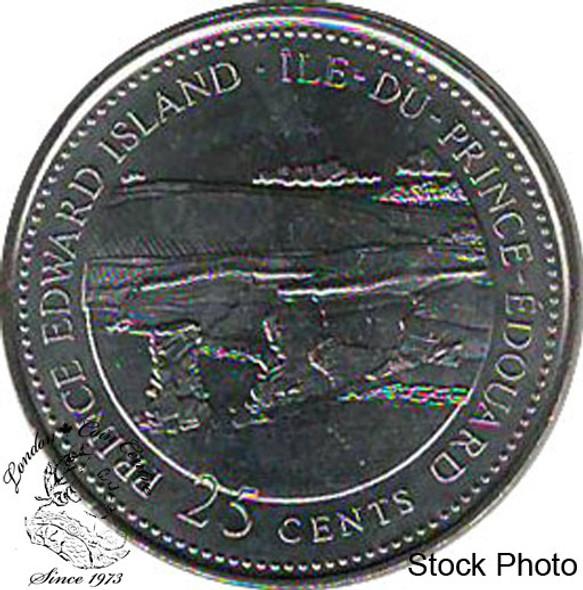 Canada: 1992 25 Cent PEI BU