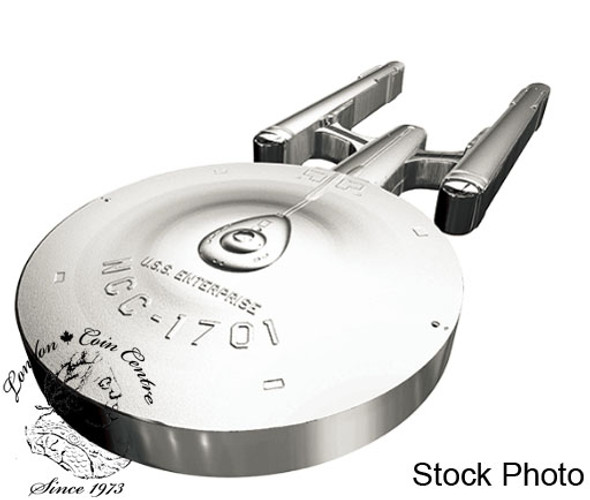 Canada: 2017 $100 Star Trek: USS Enterprise NCC-1701 Silver Coin