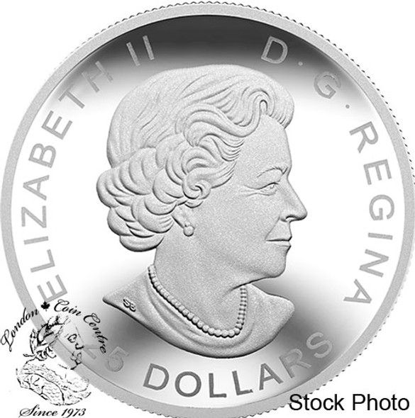 Canada: 2018 $25 Classic Holiday Ornament Pure Silver Coin
