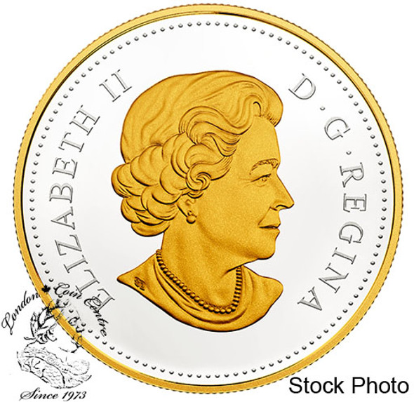 Canada: 2018 $1 240th Anniversary of Captain Cook at Nootka Sound Proof Gold Plated Silver Coin