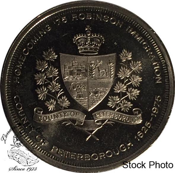 Canada: 1975 City Of Peterborough Anniversary Trade Dollar