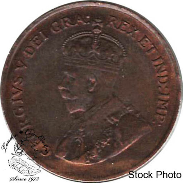 Canada: 1920 Small Cent MS62 Red & Brown