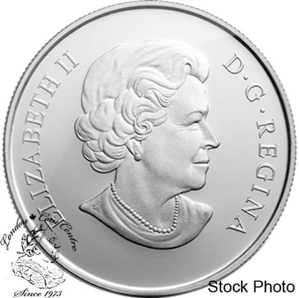 Canada: 2013 $25 An Allegory 1 oz Pure Silver Coin