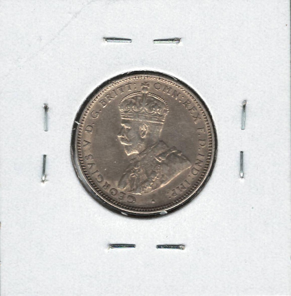 Australia: 1922M Silver 1 Shilling EF