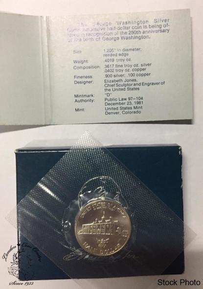 United States: 1982 Half Dollar George Washington
