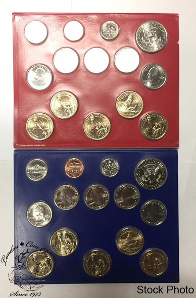 United States: 2013 Uncirculated Mint Coin Sets Denver and Philadelphia