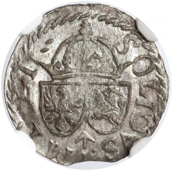 Poland: Lithuania 1614 Solidus NGC MS62
