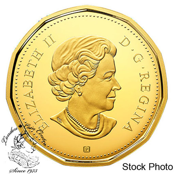 Canada: 2018 $1 Coloured Gold-Plated Pure Silver Coin