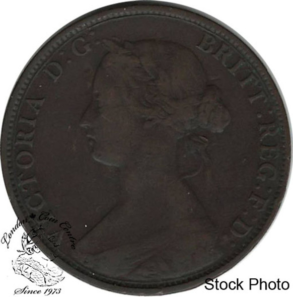 Canada: Nova Scotia 1864 Large 1 Cent VF20