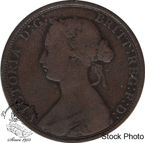 Canada: New Brunswick 1864 Large 1 Cent Short 6 F12