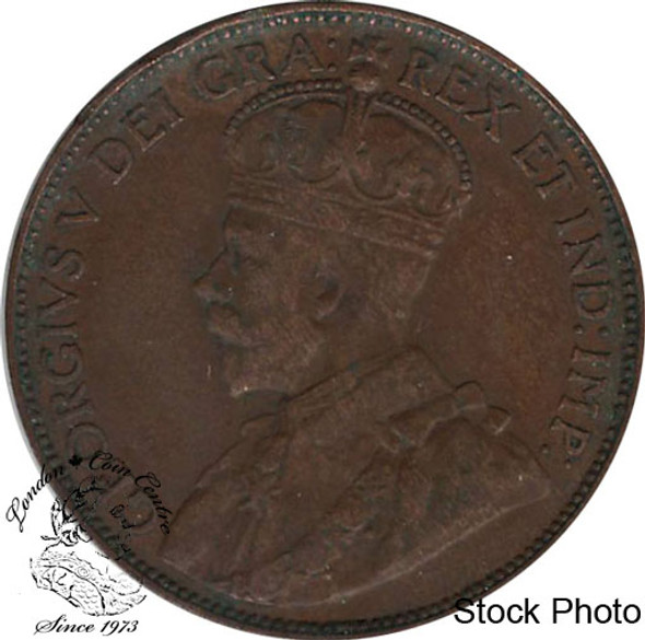 Canada: Newfoundland 1920c Large Cent VF20