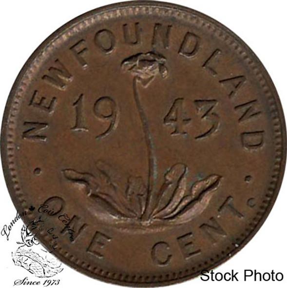 Canada: Newfoundland 1943c Small Cent EF40