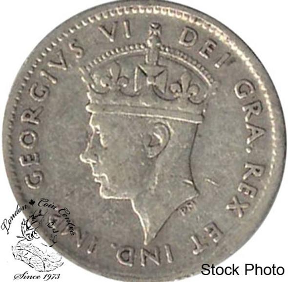 Canada: Newfoundland 1940c 5 Cent Silver EF40