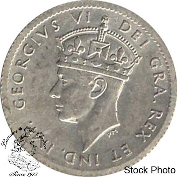Canada: Newfoundland 1941c 5 Cent Silver AU50
