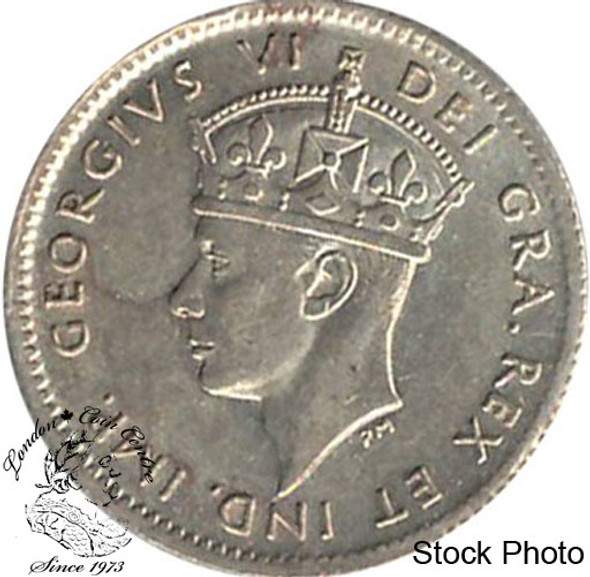 Canada: Newfoundland 1941c 5 Cent Silver MS60