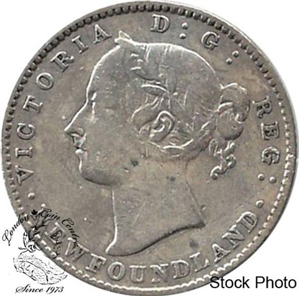 Canada: Newfoundland 1890 10 Cent VG8