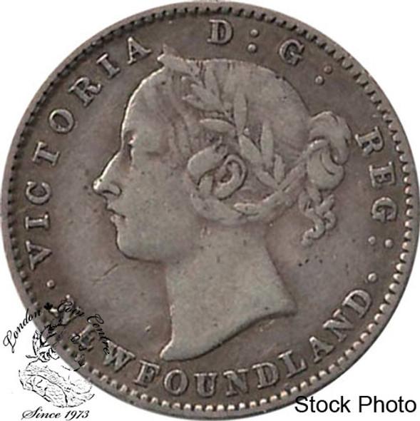 Canada: Newfoundland 1890 10 Cent F12